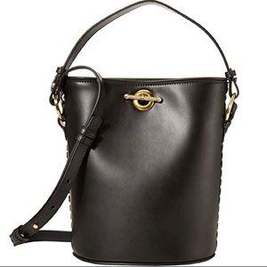 NIB Sancia Lola Black Bucket Bag